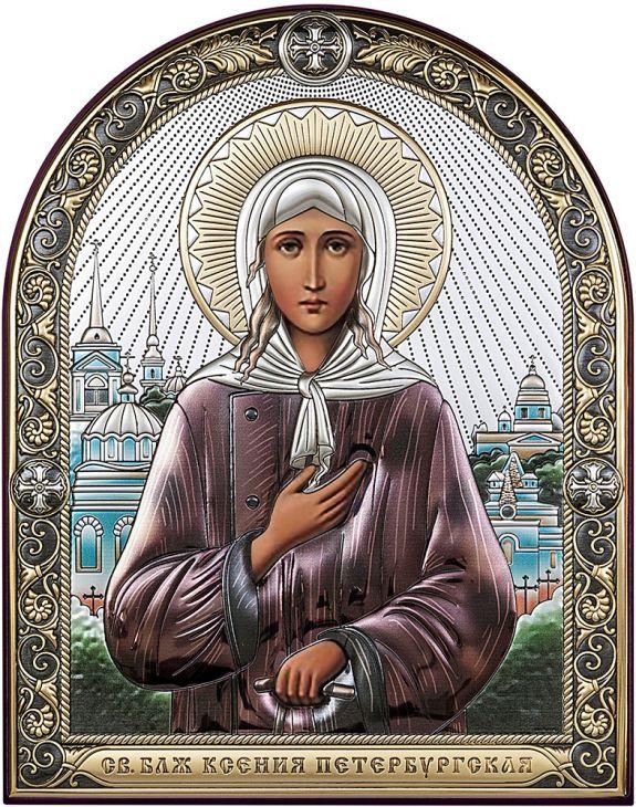Икона Святая Ксения Петербургская (Италия)