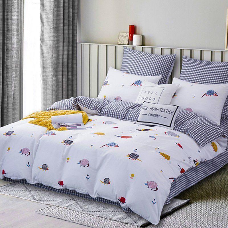 Комплект постельного белья Делюкс 2 спальный Сатин L185
