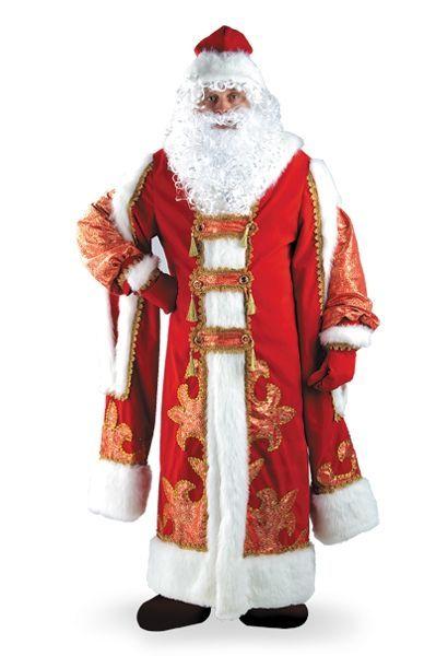 Костюм Деда Мороза VIP