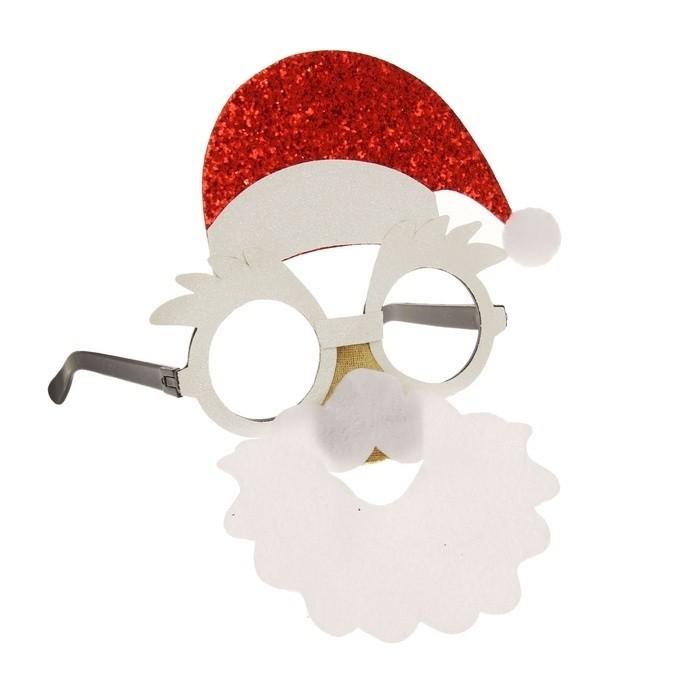 Новогодние очки Дедушка Мороз