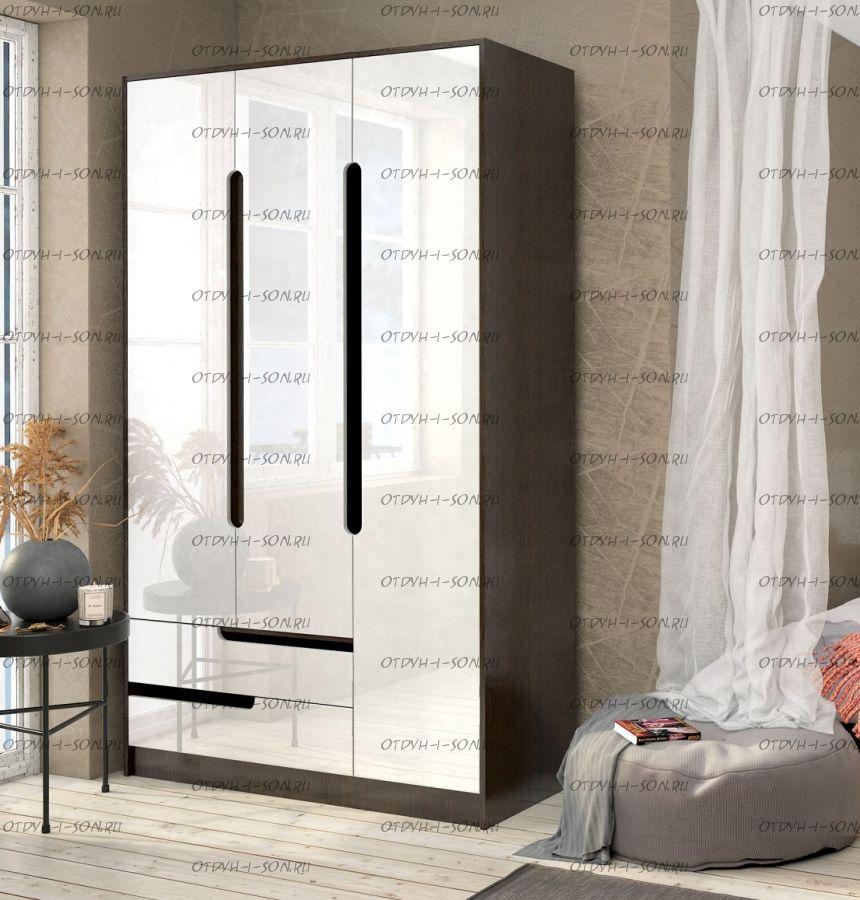 Шкаф 3-дверный Гавана (124х51х220)