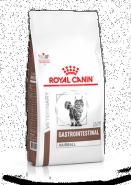 Royal Canin GastroIntestinal Hairball Полнорационный диетический корм для взрослых кошек при нарушениях пищеварения, вызванного наличием волосяных комочков. (400 гр)