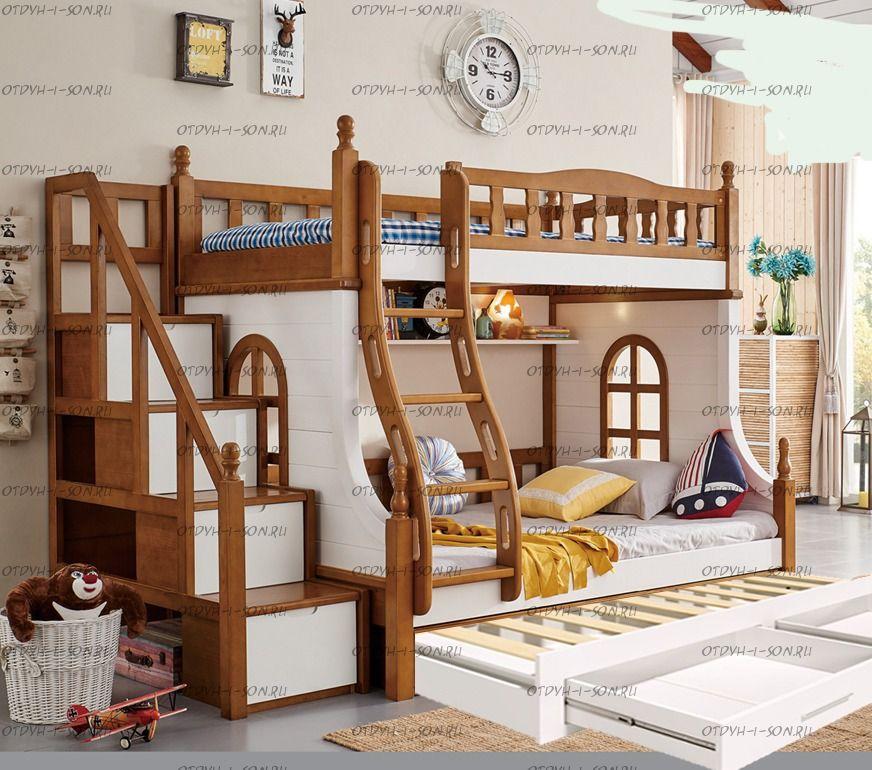 Кровать трехъярусная Принцесса №21IR