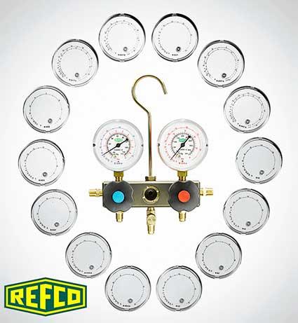Манометрическая станция Refco BM2-3-DS-Super