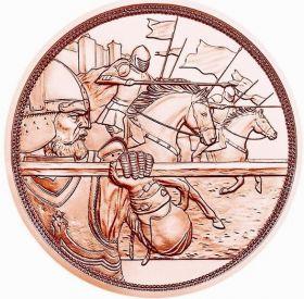 Смелость 10 евро Австрия 2020 Серия «С кольчугой и мечом»