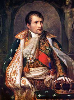 Наполеон Бонапарт портрет Императора (1769-1821 г.)