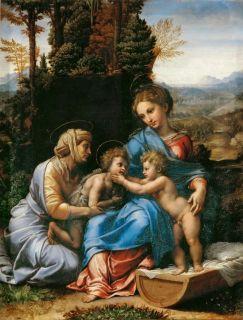 Малое Святое семейство (Репродукция Рафаэль Санти)