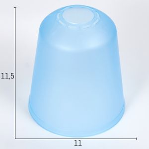 "Плафон универсальный ""Цилиндр""  Е14/Е27 синий 11хх11х12см   4931335"
