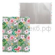 Папка 20 конвертов ErichKrause Tropical Flowers/Leaves/Nature 49314/49317/49320