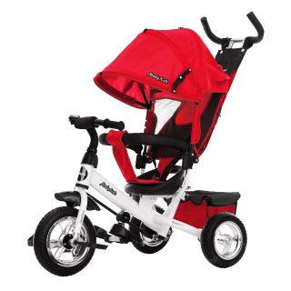 Велосипед 3кол. Comfort 10x8 EVA, красный