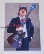 Автограф: Ангус Янг. AC/DC