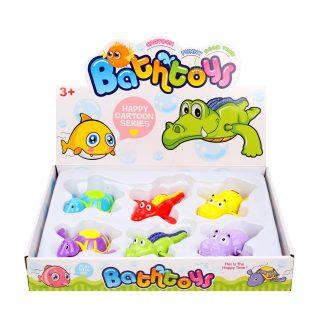 Заводные игрушки для ванной, в ассорт., блистер