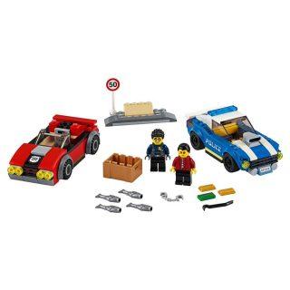 Констр-р LEGO Город Арест на шоссе