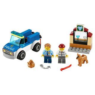 Констр-р LEGO Город Полицейский отряд с собакой