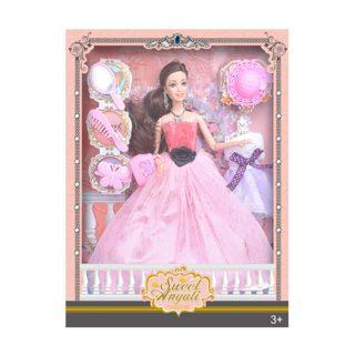 """Игр. набор """"Модница"""", в комплекте кукла 30 см, предметов 7 шт., кор."""