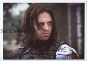 Автограф: Себастиан Стэн. Первый мститель: Другая война