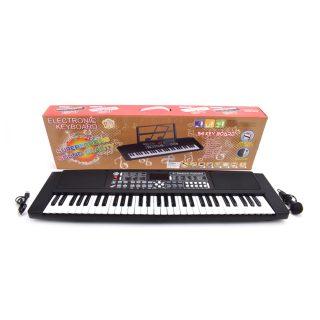 Синтезатор эл., 54 клавиши, запись, микрофон, MP3, USB-шнур, эл.пит. 4АА не вх.в комплект