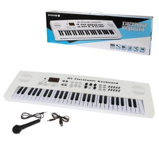 Синтезатор эл., 54 клавиши, запись, микрофон, USB-шнур, эл.пит. 4АА не вх.в комплект