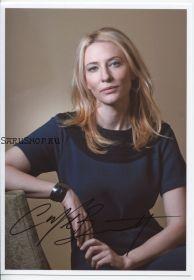 Автограф: Кейт Бланшетт