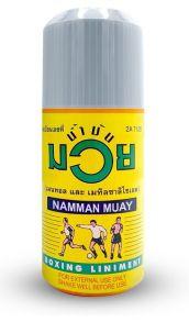 Разогревающее масло для спортсменов NAMMAN MUAY THAI, 30 мл.
