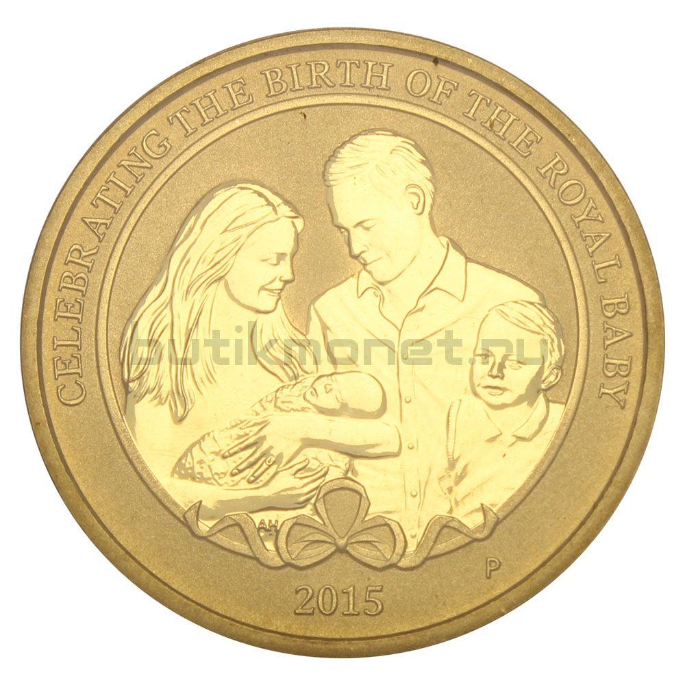1 доллар 2015 Австралия Рождение принцессы Кембриджа Шарлотты