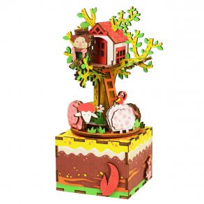 Деревянный конструктор «Домик на дереве»
