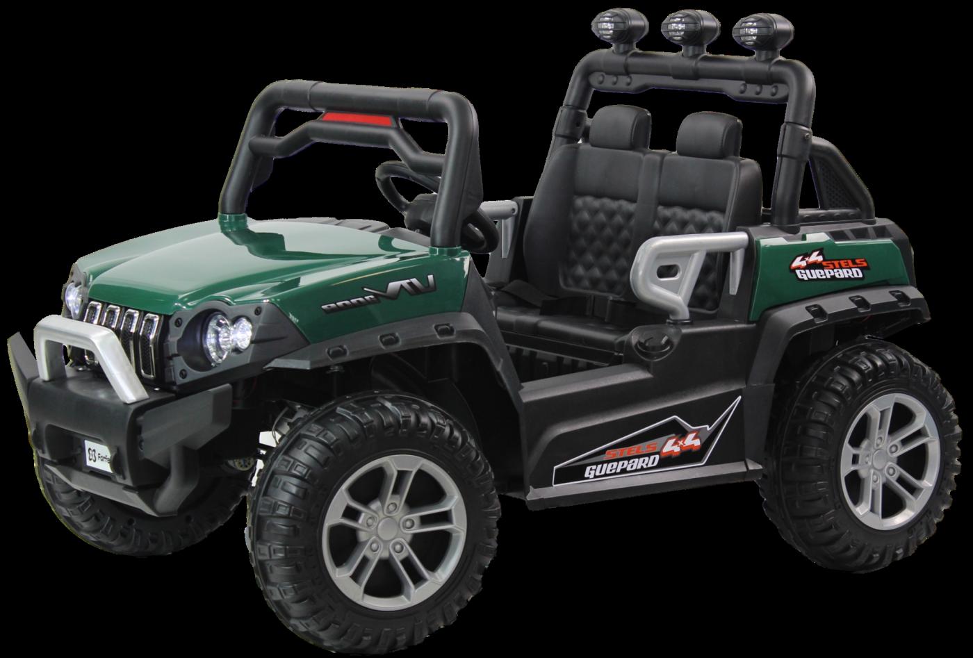 Детский электромобиль (2020) DLS02 (12V) Зелёный