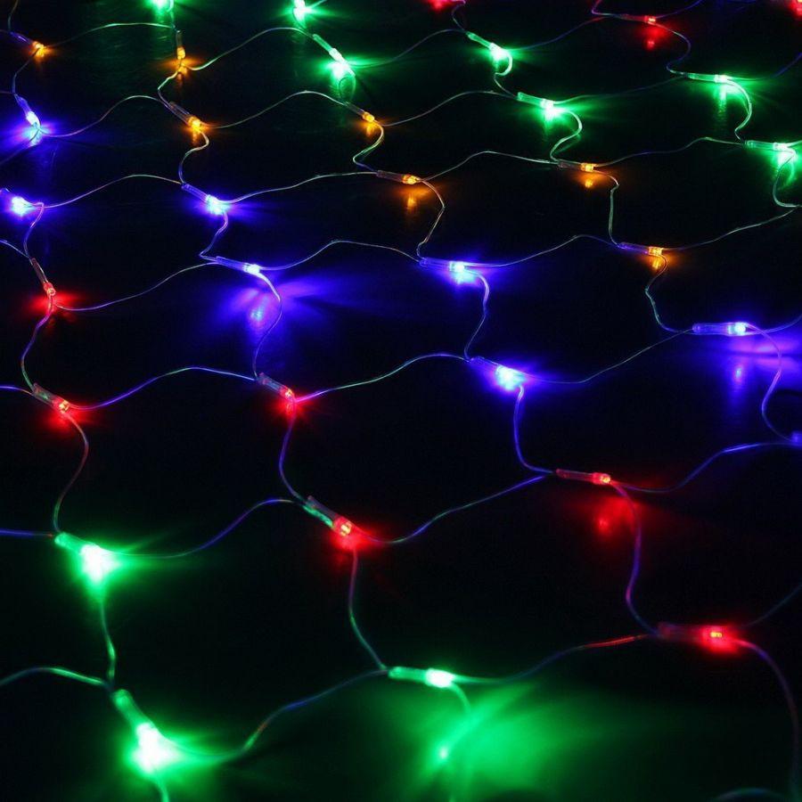 Электрогирлянда «Сетка» 200 LED, 1,5*2 м.