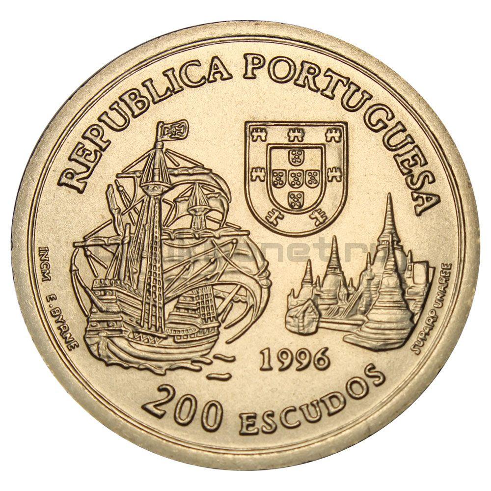 200 эскудо 1996 Португалия Альянс Португалии и Сиама 1512 года