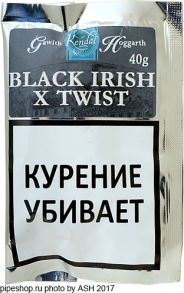 Табак трубочный Gawith & Hoggarth Black Irish X Twist (40 гр.)