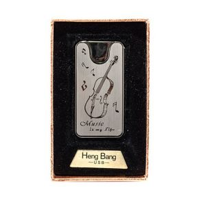 Зажигалка подарочная HENG BANG USB