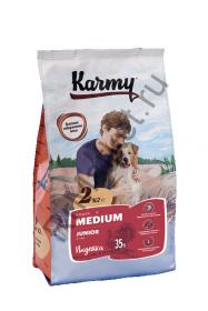 Karmy Junior Medium для собак - индейка