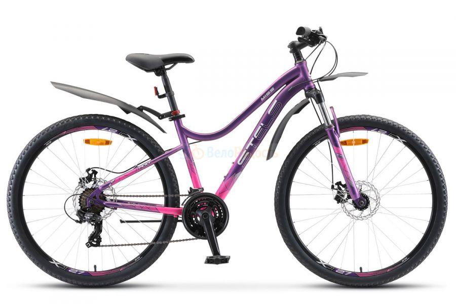 Велосипед женский Stels Miss 7100 MD 27.5 V010 (2018)