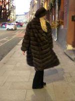 Шуба баргузинский соболь купить Москва фото