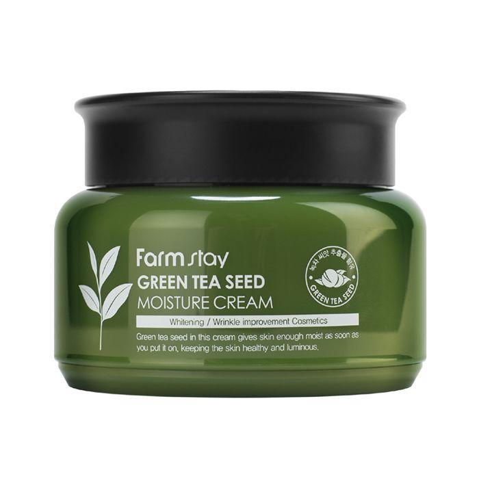 Крем для лица с зелёным чаем FarmStay Green Tea Seed Moisture Cream