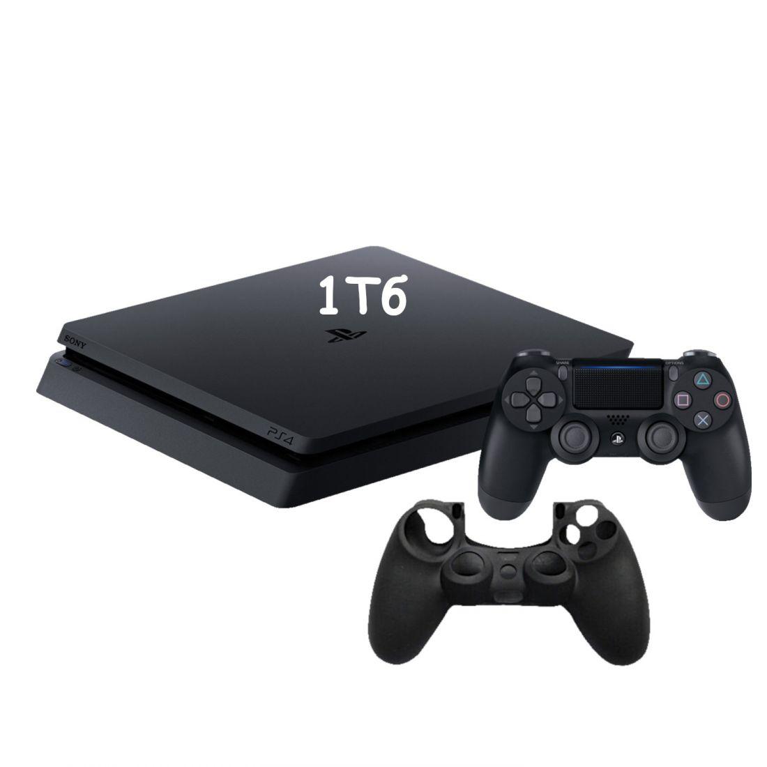 Sony PlayStation 4 Slim 1 Тб + Защитны силиконовый чехол для джойстика
