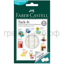 Подушки клеящие Faber-Castell 90шт.50г белые 589150