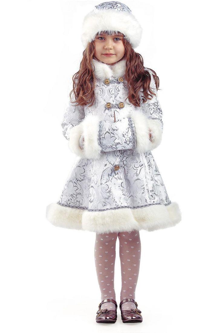 Детский костюм хрустальной снегурочки