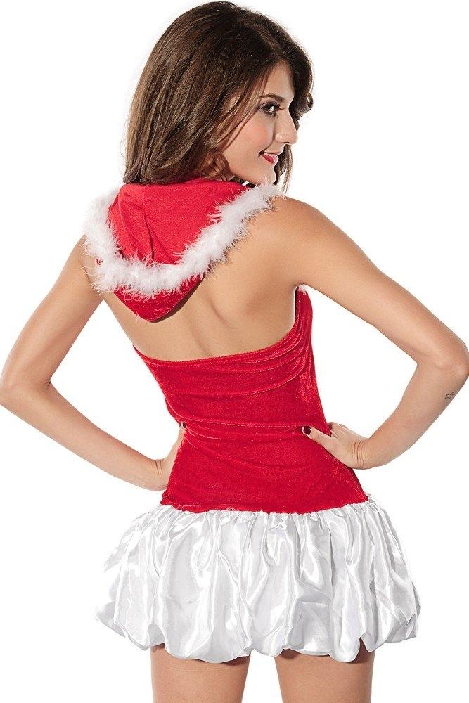 Костюм подружки Деда Мороза