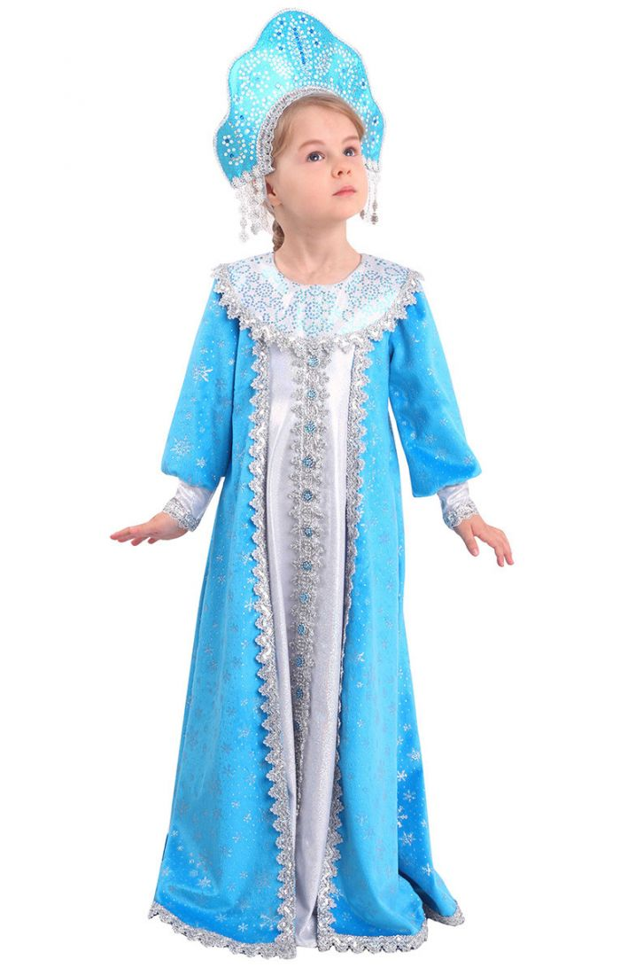 Детский костюм Снегурочки Сударушки