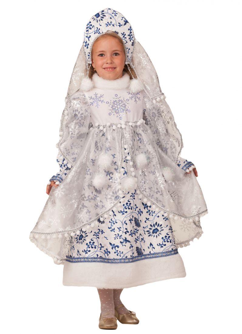 Детский костюм Снегурочки Метелицы