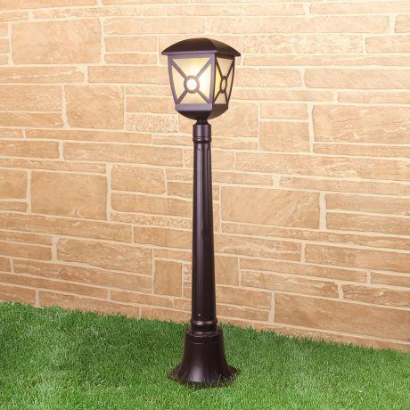 GL 1022F / Светильник садово-парковый Columba F коричневый (GL 1022F)