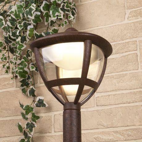 GL LED 3001F / Светильник садово-парковый со светодиодами Gala F брауни (GL LED 3001F)