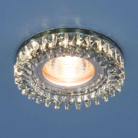 2216 MR16 / Светильник встраиваемый  SBK дымчатый