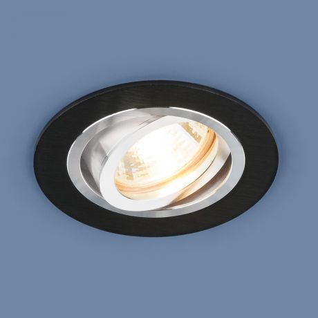 1061/1 / Светильник встраиваемый MR16 BK черный