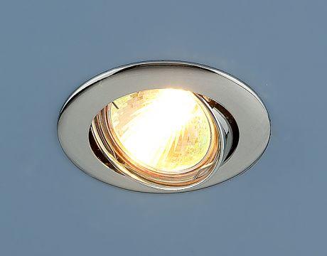 104S MR16 CH / Светильник встраиваемый хром