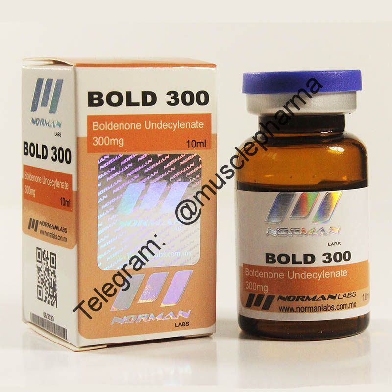 BOLD 300 (NORMAN LABS). 300mg/ml 10ml * 1 флакон