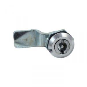 """Замок """"АЛЛЮР"""" 705, ф-образный ключ (без ключей), цвет хром   2614573"""