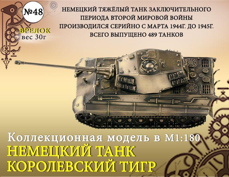 "Форма №48 ""Танк Королевский Тигр бр."""