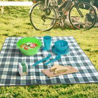 Набор для пикника пластиковый BEROSSI Picnic Mini бирюзовый 526035 фото2